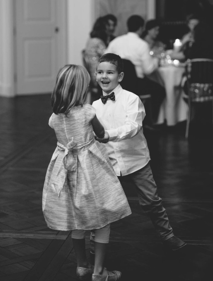 Country Club Pittsburgh Wedding Kids Dancing