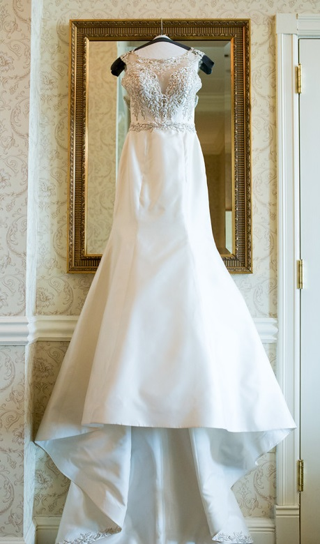 Nemacolin Woodlands Pittsburgh Wedding Wedding Gown Shot