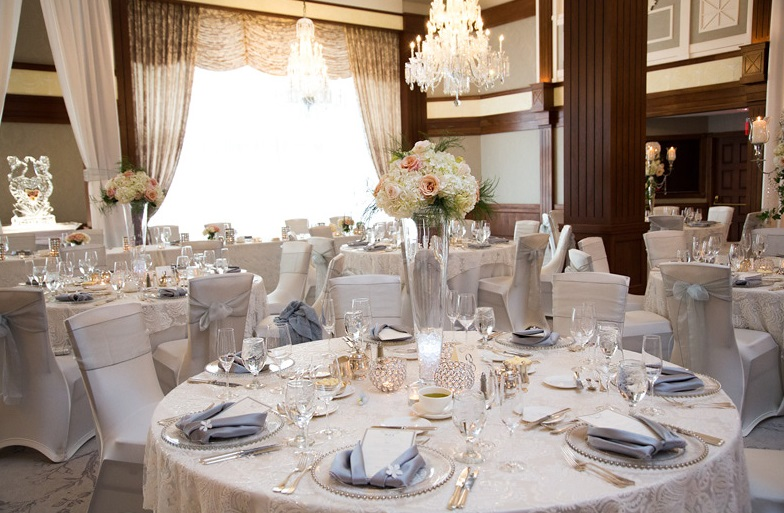 Nemacolin Woodlands Pittsburgh Wedding Elegant Reception Venue