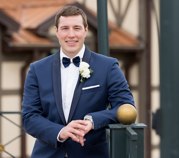 Nemacolin Woodlands Pittsburgh Wedding Outdoor Groom Photo