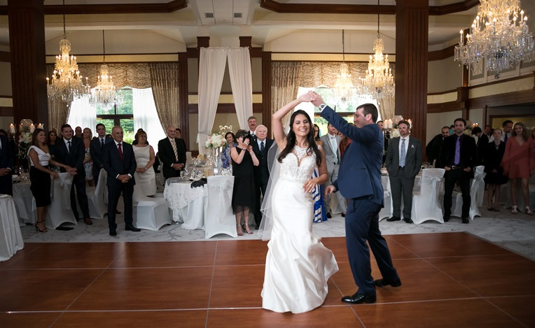 Nemacolin Woodlands Pittsburgh Wedding First Dance as Husband and Wife