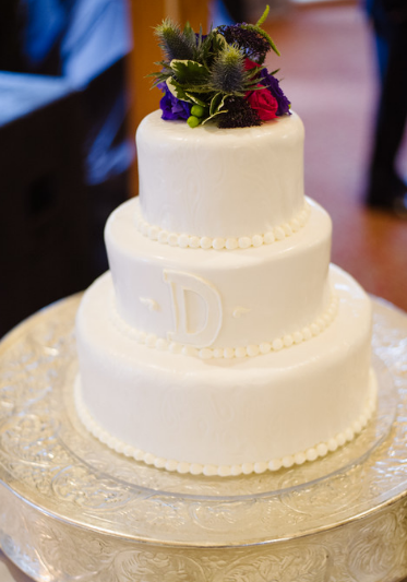 Seven Springs Pittsburgh Wedding Cream Cake