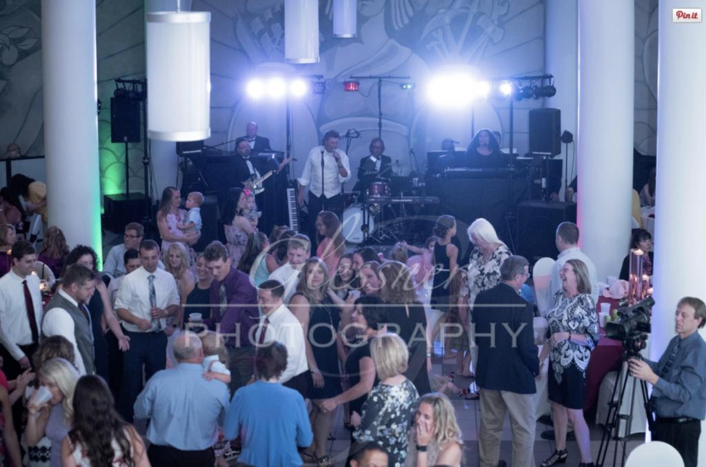 Altoona Heritage Discovery Center Wedding Dancing John Parker Band