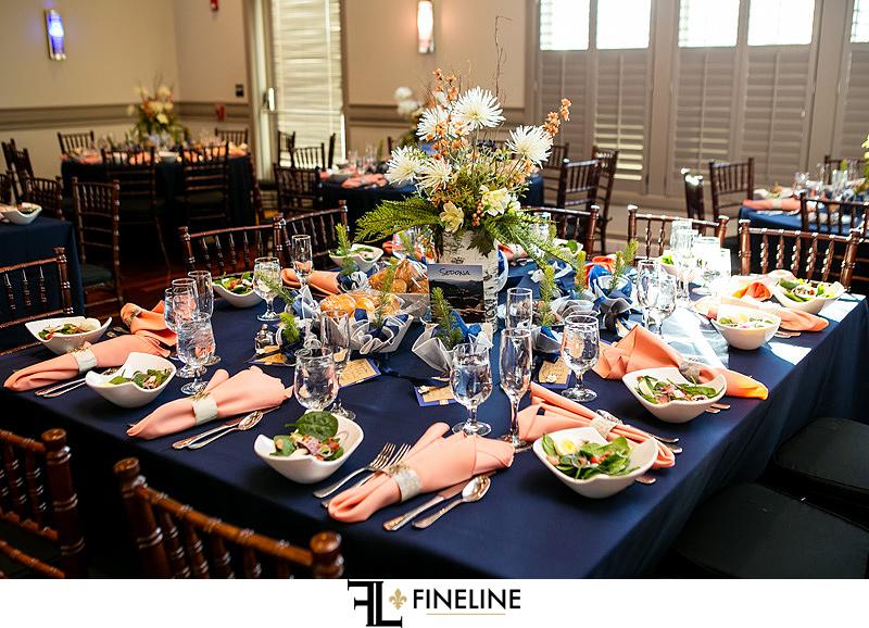 Noah's Event Center Cranberry Wedding Table Decor