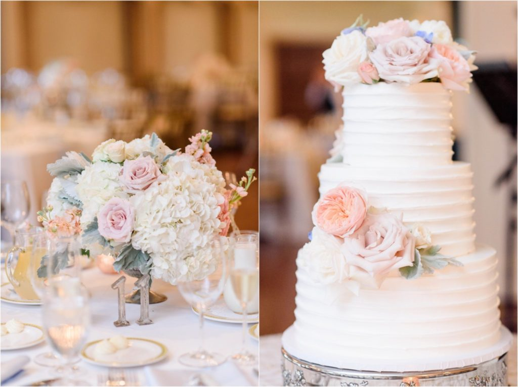 Oakmont-Country-Club-Wedding Bouquet Cake
