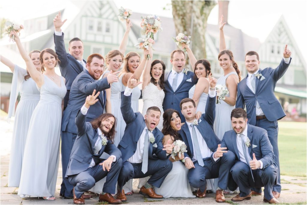 Oakmont-Country-Club-Wedding Bridal Party
