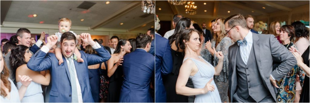 Oakmont-Country-Club-Wedding Family Dancing