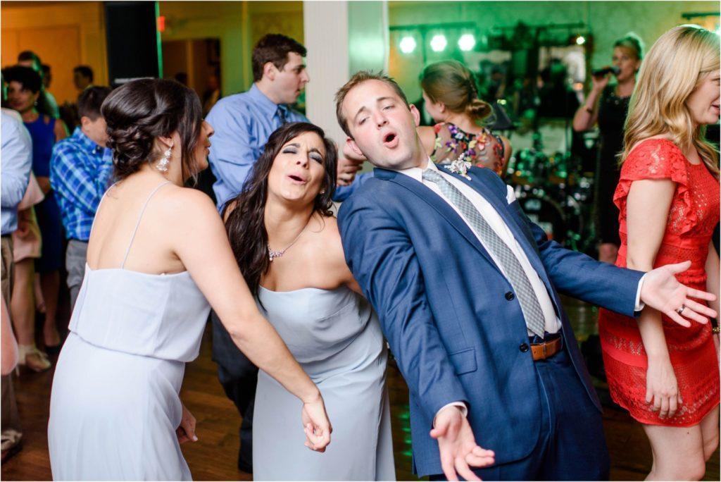 Oakmont-Country-Club-Wedding-dance to John Parker Band