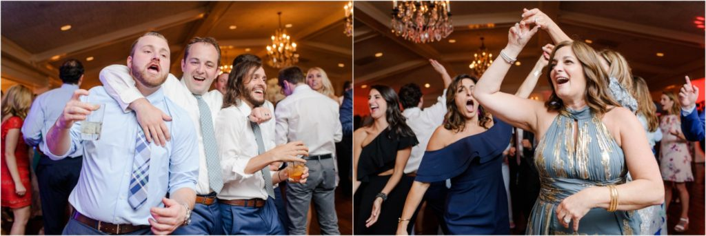 Oakmont-Country-Club-Wedding fun dancing